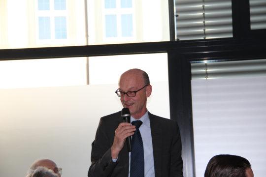 Hr. Seeger 1. Vorsitzender Caritas